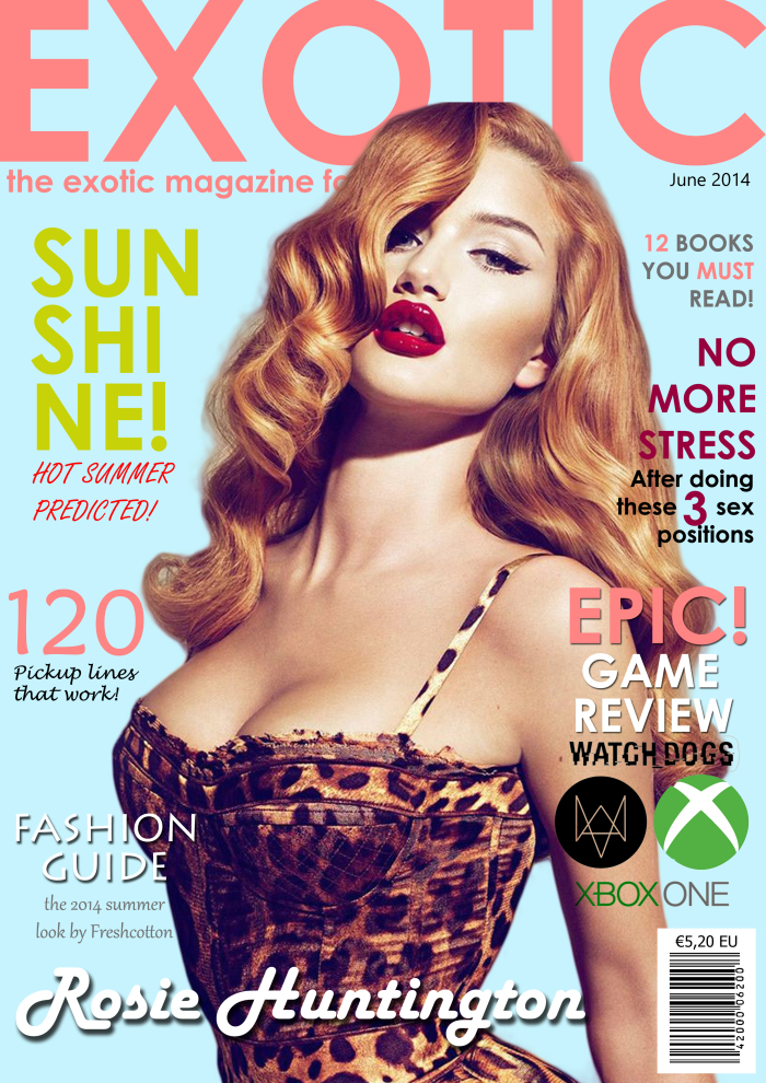Exotic Magazine Cover 1