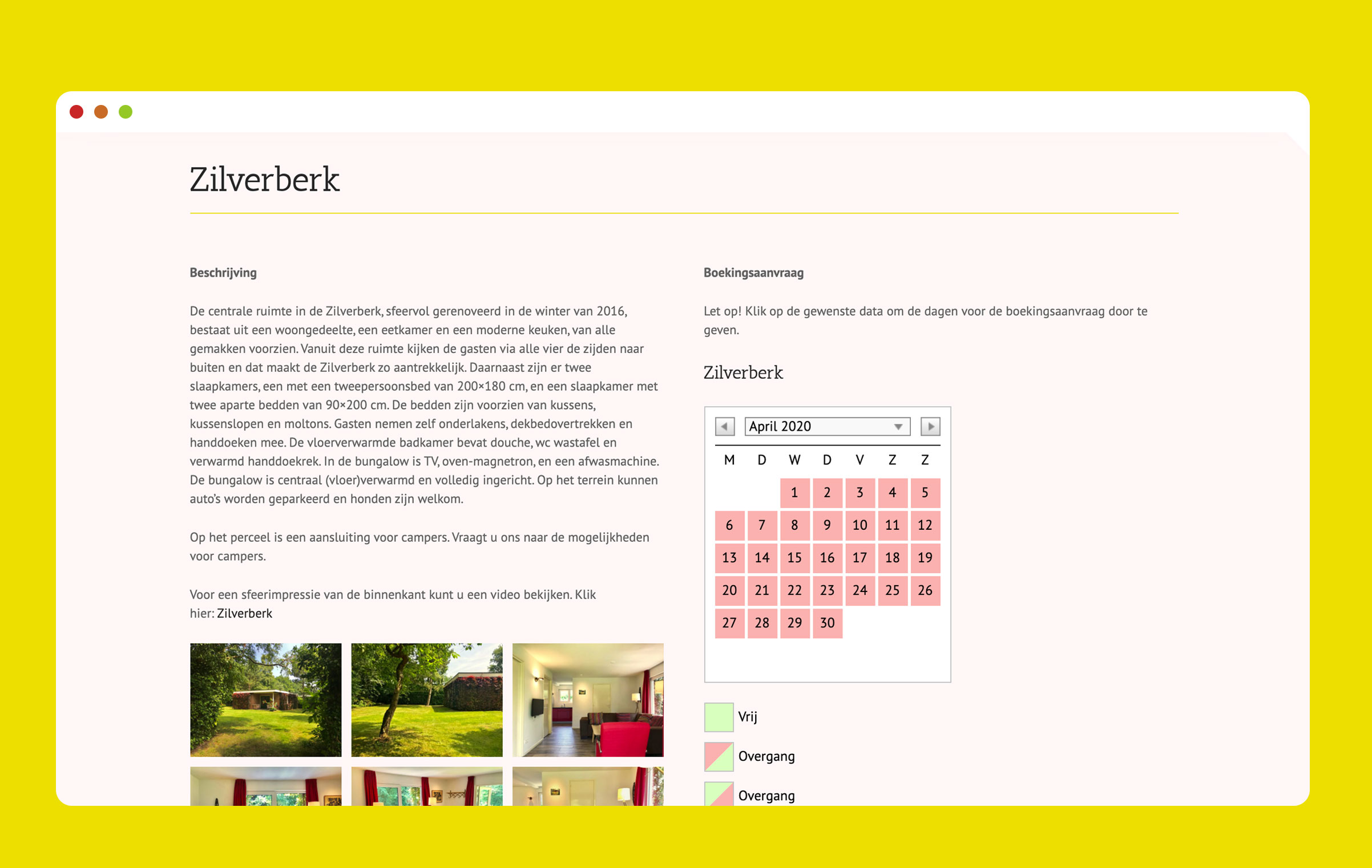 Bureau Parafrase Screenshot 2 Website